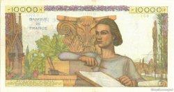 10000 Francs GÉNIE FRANÇAIS FRANCE  1955 F.50.74 SUP