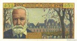 5 Nouveaux Francs VICTOR HUGO FRANCE  1962 F.56.11 SUP+