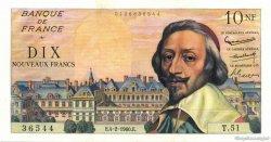 10 Nouveaux Francs RICHELIEU FRANCE  1960 F.57.05 SPL+