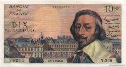 10 Nouveaux Francs RICHELIEU FRANCE  1963 F.57.22 pr.SPL