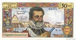 50 Nouveaux Francs HENRI IV FRANCE  1959 F.58.04 TTB+