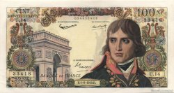 100 Nouveaux Francs BONAPARTE FRANCE  1959 F.59.02 SUP