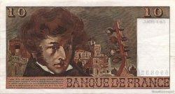 10 Francs BERLIOZ FRANCE  1978 F.63.24b SUP