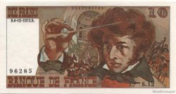 10 Francs BERLIOZ sans signatures FRANCE  1978 F.63bis.01 NEUF