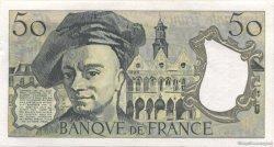 50 Francs QUENTIN DE LA TOUR FRANCE  1992 F.67.19d SPL+