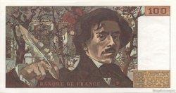100 Francs DELACROIX FRANCE  1978 F.68.02 pr.NEUF