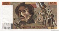 100 Francs DELACROIX FRANCE  1978 F.68.03 pr.NEUF