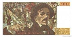 100 Francs DELACROIX modifié FRANCE  1978 F.69.01d pr.SPL