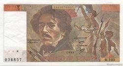 100 Francs DELACROIX modifié FRANCE  1986 F.69.10 pr.NEUF
