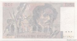 100 Francs DELACROIX UNIFACE FRANCE  1993 F.69/U.06 SPL