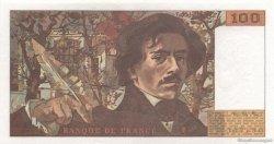 100 Francs DELACROIX imprimé en continu FRANCE  1993 F.69bis.07 SPL