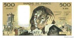 500 Francs PASCAL FRANCE  1987 F.71.37 NEUF