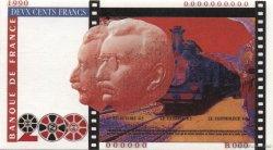 200 Francs FRÈRES LUMIÈRE FRANCE  1990 F.(71ter) NEUF