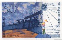 50 Francs SAINT-EXUPÉRY modifié FRANCE  1994 F.73.01c pr.NEUF