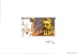 100/200 Francs EIFFEL essai FRANCE  1989 F.75.00 NEUF