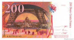 200 Francs EIFFEL FRANCE  1996 F.75.02 NEUF