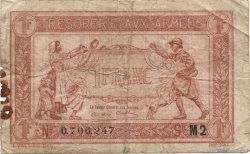 1 Franc TRÉSORERIE AUX ARMÉES FRANCE  1919 VF.04.20 pr.TB