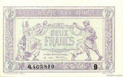 2 Francs FRANCE  1917 VF.05.02 NEUF