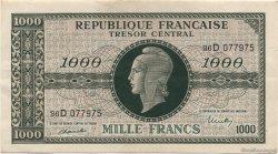 1000 Francs chiffres maigres FRANCE  1945 VF.13.01 pr.SUP