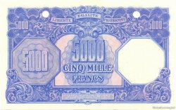 5000 Francs Marianne FRANCE  1945 VF.14.02 NEUF