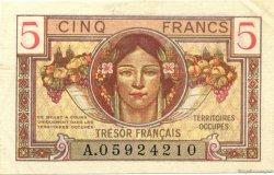 5 Francs Territoires occupés FRANCE  1947 VF.29.01 SPL