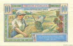 10 Francs Territoires occupés FRANCE  1947 VF.30.02 pr.NEUF