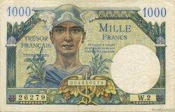 1000 Francs Trésor Français FRANCE  1947 VF.33.01 TTB
