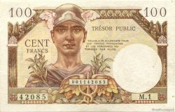 100 Francs Trésor Public FRANCE  1955 VF.34.01 SUP