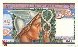 1000 Francs Trésor Public FRANCE  1955 VF.35.02 pr.NEUF