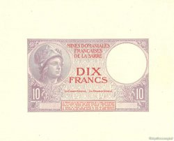 10 Francs MINES DOMANIALES DE LA SARRE FRANCE  1920 VF.53.02 NEUF