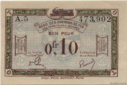 10 Centimes FRANCE régionalisme et divers  1923 JP.02 SPL