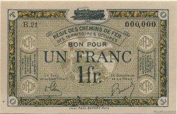 1 Franc FRANCE régionalisme et divers  1923 JP.05 pr.NEUF
