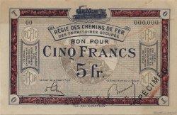 5 Francs FRANCE régionalisme et divers  1923 JP.06 SUP