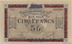 5 Francs FRANCE régionalisme et divers  1923 JP.06 pr.NEUF