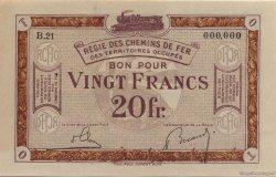 20 Francs FRANCE régionalisme et divers  1923 JP.08 pr.NEUF