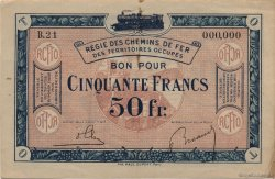 50 Francs FRANCE  1923 JP.09 SUP