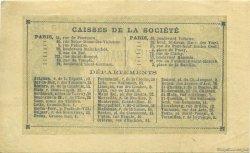 2 Francs Société Générale FRANCE régionalisme et divers  1871 - SUP+