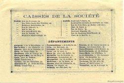 5 Francs Société Générale FRANCE régionalisme et divers  1871 - SPL