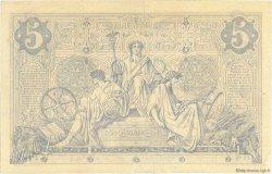 5 Francs NOIR FRANCE  1873 F.01.14 TTB
