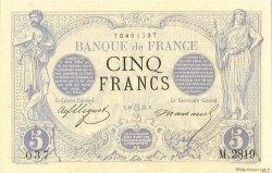 5 Francs NOIR FRANCE  1873 F.01.20 SPL