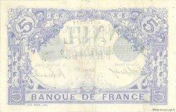 5 Francs BLEU FRANCE  1913 F.02.13 SUP+