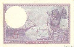5 Francs VIOLET FRANCE  1921 F.03.05 TTB+