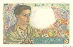 5 Francs BERGER FRANCE  1947 F.05.07a pr.NEUF