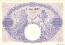 50 Francs BLEU ET ROSE FRANCE  1925 F.14.38 pr.SUP