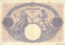 50 Francs BLEU ET ROSE FRANCE  1926 F.14.39 pr.TTB