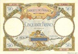 50 Francs LUC OLIVIER MERSON type modifié FRANCE  1932 F.16.03 TTB+