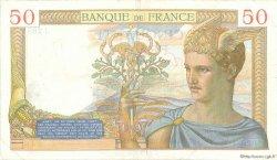 50 Francs CÉRÈS FRANCE  1935 F.17.16 TB+