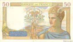 50 Francs CÉRÈS FRANCE  1936 F.17.28 TTB
