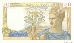 50 Francs CÉRÈS modifié FRANCE  1940 F.18.41 pr.NEUF