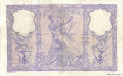 100 Francs BLEU ET ROSE FRANCE  1909 F.21.24 pr.TB